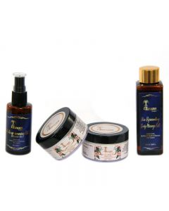 Vanam Herbals Facial Kit With Combo 4 set No Chemicals Organic & Natural - (4 Set)