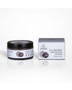 Vikarah 2 in 1 Mud Mask with Activated Charcoal 40g