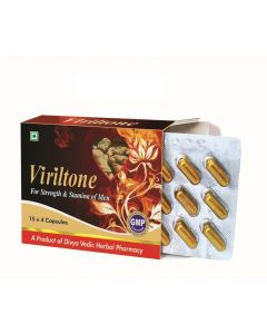 Viriltone Capsules (15*4 Caps) Male Potency Enhancer