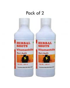 Vitomanhills Herbal Shots 500ml (Pack of 2)