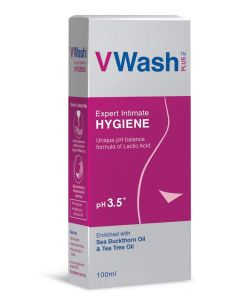 VWash Plus Expert Hygiene Intimate Wash 100ml