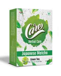 Care 2in1 Japnese Matcha Tea - 140gm