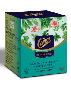 Care Moringa + Giloy Green Tea with Lemongrass - 15gm