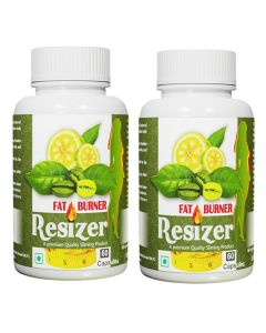 Pharma Science Resizer  Weight Loss Supplement with Garcinia Cambogia & Green Coffee Beans Extract - (120 Veg Capsules)