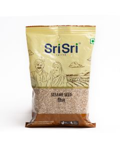 Sri Sri Tattva White Sesame Seeds (Til) - 100gm