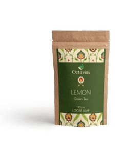 Whole Leaf Lemon Green Tea Pouch Pack
