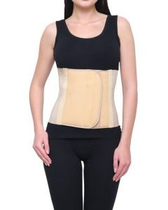 Witzion Abdominal Belt Back Support Belt Premium Beige - SMALL