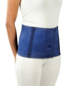 Witzion Abdominal Belt Back Support Belt Premium Blue Small