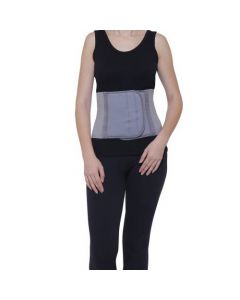 Witzion Abdominal Belt Back Support Belt Premium Grey Medium