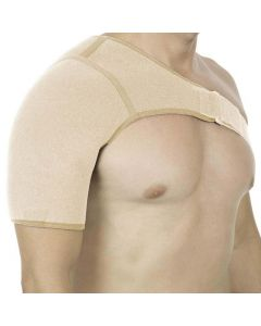 Witzion Shoulder Support Shoulder Brace Blue & Black Left