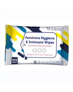 Wiclenz Femine Hygiene & Intimate Wipes - Set of 10 Wipes - Pack of 3