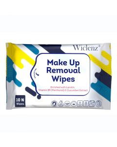 Wiclenz Make Up Removal Wipes - Pack of 10 Wipes - Set of 5