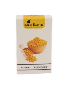 Wild Earth Ayurvedic Turmeric Soap 100 gm