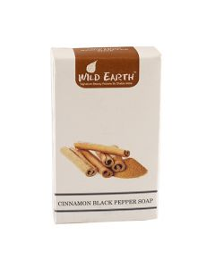 Wild Earth Cinnamon Black Pepper Soap 100 gm