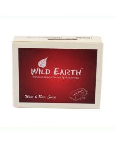 Wild Earth Drunken Wine and Beer Soap 100 gm