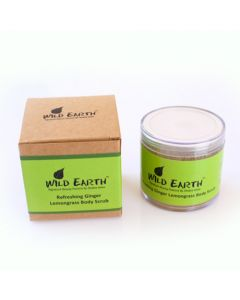 Wild Earth Ginger Lemongrass Body Scrub 100 gm
