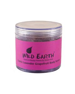 Wild Earth Lavender Grapefruit Body Scrub 100 gm