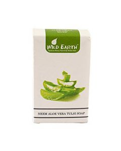 Wild Earth Neem Aloe Vera Tulsi Soap 100 gm