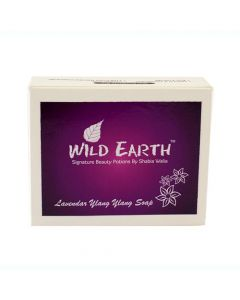 Wild Earth Soothing Lavender Ylang Ylang soap 100 gm