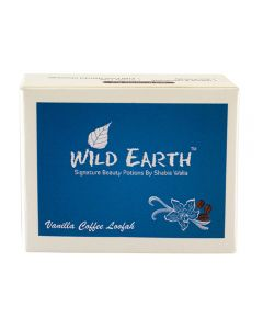 Wild Earth Vanilla Coffee Loofah Soap 100 gm