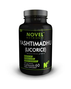 YASHTIMADHU ( LICORICE ) 500 MG CAPSULES- STOMACH ULCERS