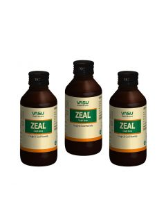 Zeal Cough Syrup 100ml (Pack of 3)