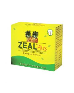 Zeal Plus Ayurvedic cough Lozenges 5X4