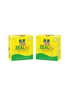 Zeal Plus Ayurvedic cough Lozenges 5X4 (Pack of 2)