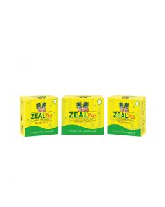 Zeal Plus Ayurvedic cough Lozenges 5X4 (Pack of 3)