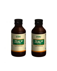 Zeal SF Cough Syrup 100ml (Pack of 2)