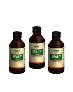 Zeal SF Cough Syrup 100ml (Pack of 3)