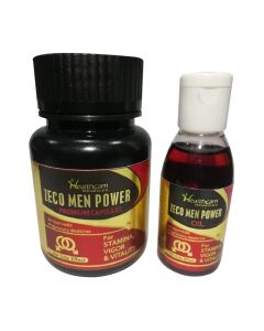 Zeco Men Power Premium Capsules & Oil - Combo Pack