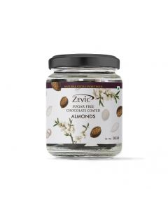 Zevic Sugarfree Chocolate Coated Almonds - 100 gm