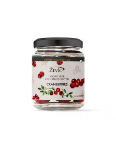 Zevic Sugarfree Chocolate Coated Cranberry 100 gm
