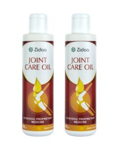 Zidaa Herbal Joint Care, Pain Relief Oil for Bone & Joint Health - Pack of 2 (100ml Each)