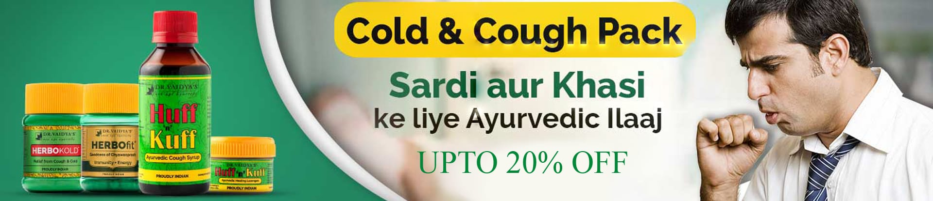 Buy Dr. Vaidya's Cough & Cold Pack at Best Price